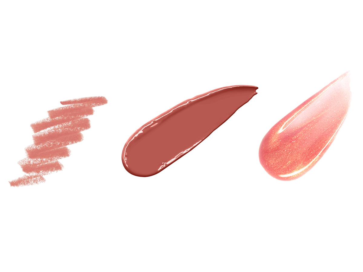 4x3 Peach Lip Products