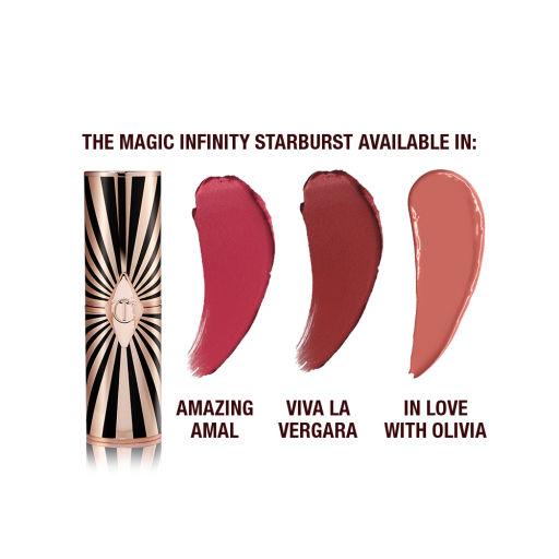 Hot Lips 2 Packaging and swatches infinity burst