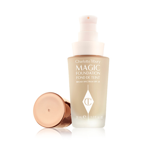 CHARLOTTE TILBURY-MAGIC FOUNDATION-LID OFF#6.5