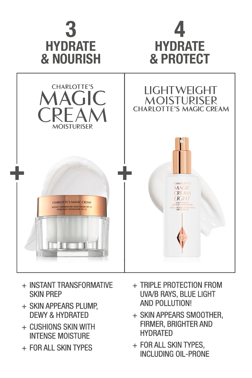 Charlotte's Magic Skincare Routine