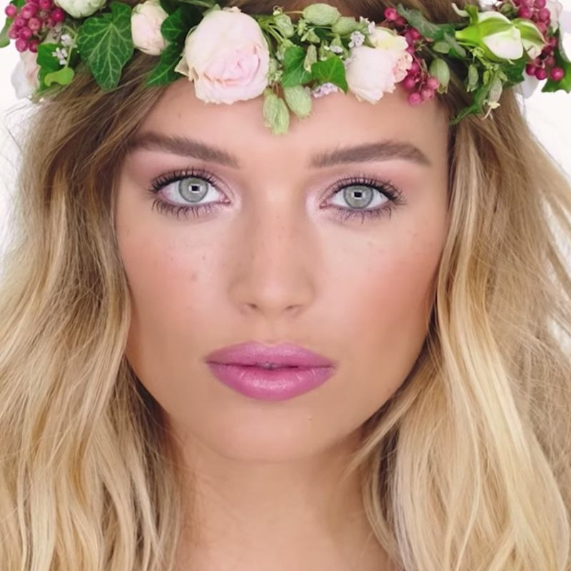 festival midsummer beauty look