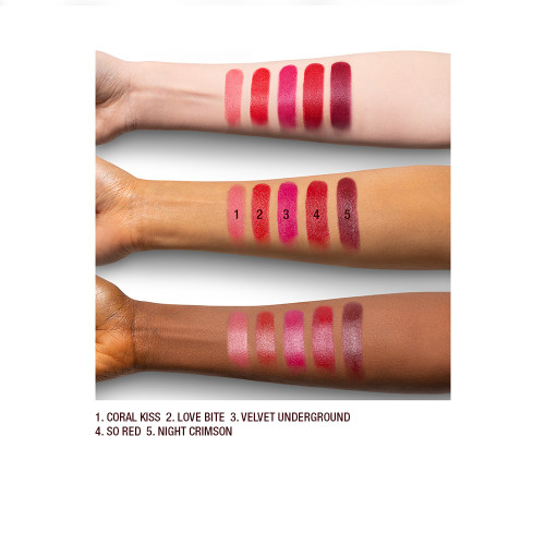 KISSING Deep Shades Arm Swatch