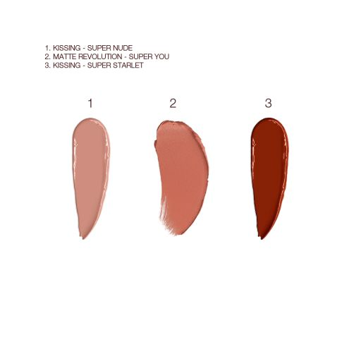 Supernudes Kit Lipstick Swatches