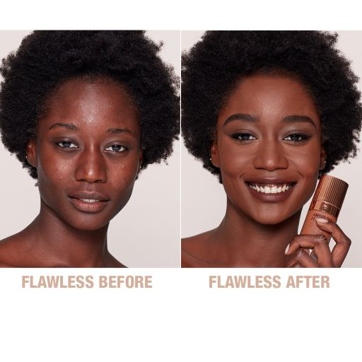 Airbrush Flawless Foundation 15 Cool before and after 2