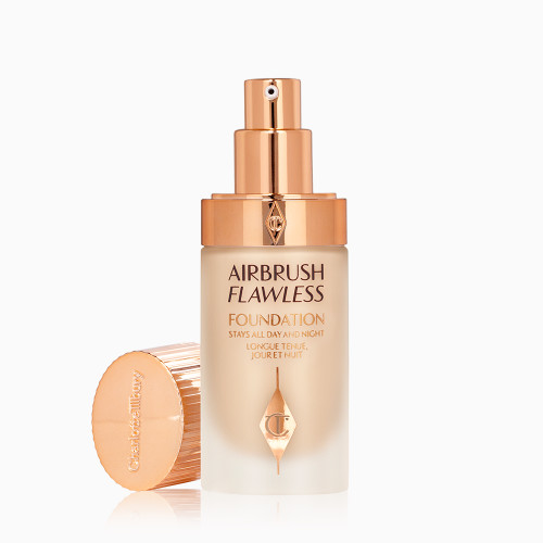 Airbrush Flawless Foundation 4 neutral open with lid Packshot