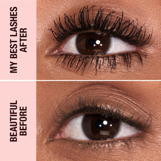 Pillow Talk Push Up Lashes Deep Before/After
