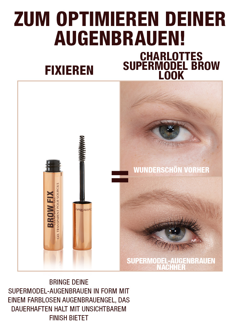 Brow Routine Step 2- German