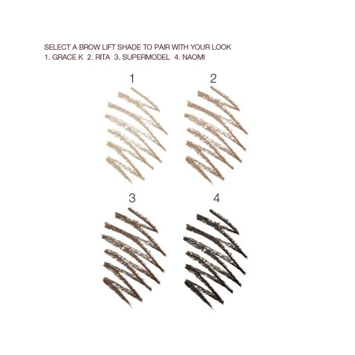 Sultry Smokey Eye Kit Swatches Eye Brow