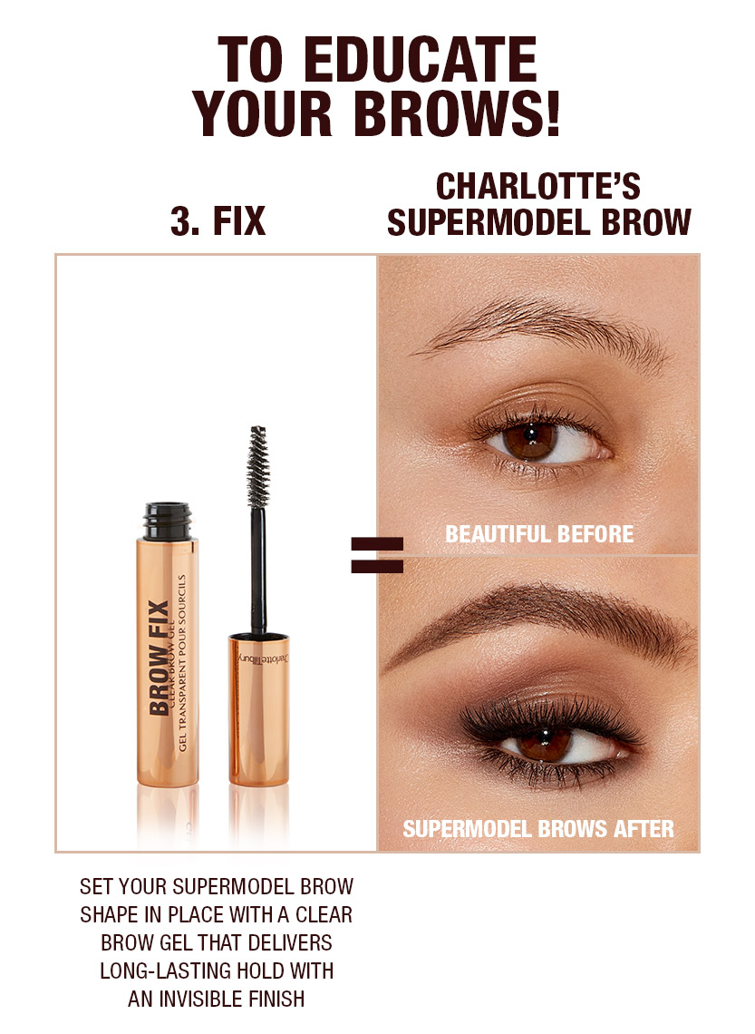 Supermodel brows 3 step routine Medium
