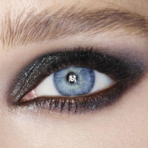 Black Diamonds Model Eye Shot