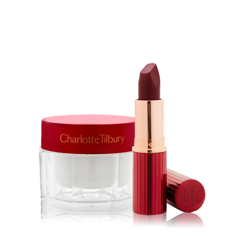 Limited edition magic red and magic cream Beauty Duo Pack Shot Open