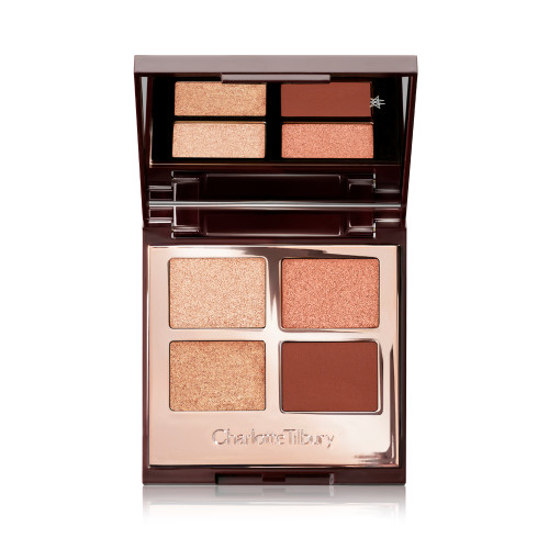 Luxury Palette Copper Charge Eyeshadow Open Pack Shot