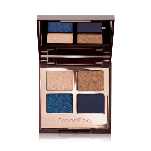 Super Blue Luxury Palette Eyeshadow Open Pack Shot
