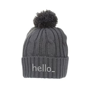 Bobble Hats with logo