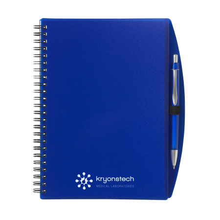 Blue A5 notebooks can be used as promotional gifts or stationery. Customize it with your logo, message and photo to leave long lasting impressions