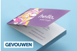 Cheap Folded Business Card Printing all over the UK | Free delivery and 100% satisfaction guarantee for all folded business cards with Printworx