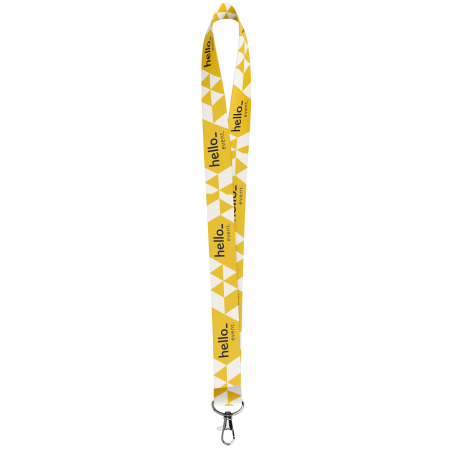 Get your unique 25mm lanyards printed at Helloprint. It is perfect for use at events and company fairs.