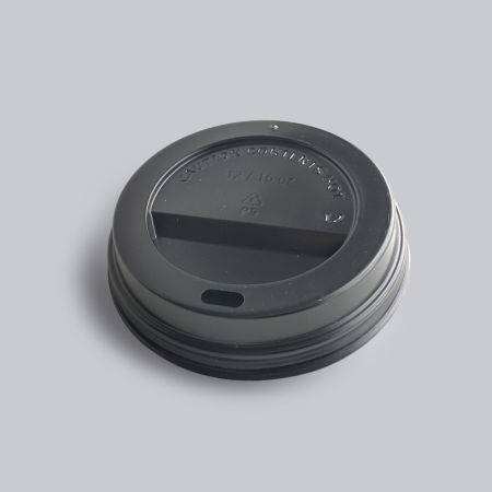 A black paper cup cap for printed paper cups available at Helloprint for a cheap price.