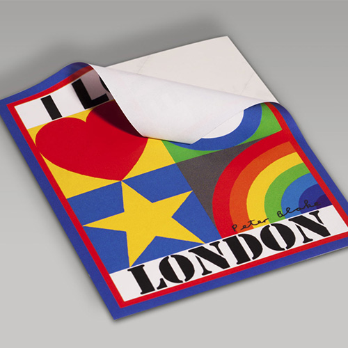 Custom vinyl sticker printing by helloprint