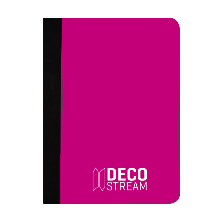 A4 notebook folder for taking notes. On Drukzo, you can personalise it with your own logo or design.