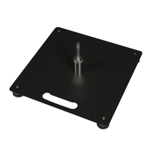 A black plate flag accessory available at Helloprint