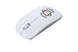 Get your white colored optical mouse uniquely designed at drukwerktotaal. Perfect for representing your brand while you work.
