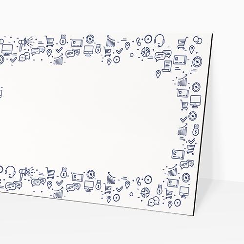 Cheap Custom White Board Stand Printing UK