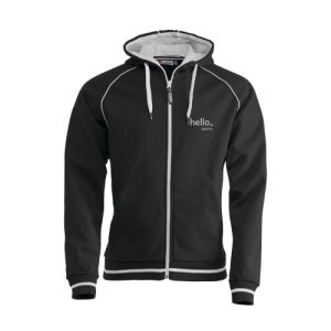 Sporty Zip Up Hoodies personalisation