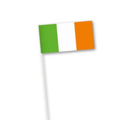 An example of a printed Irish flag country flag available at a cheap price at Helloprint
