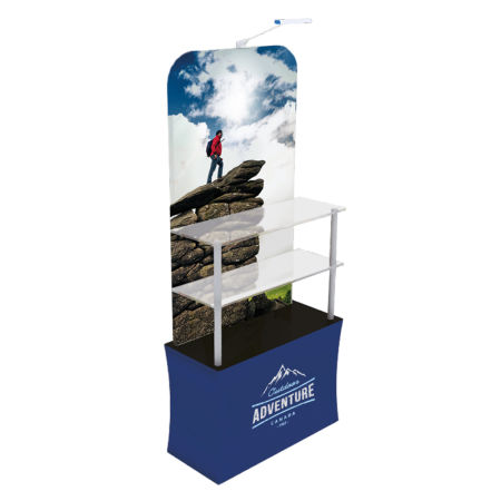 Get your uniquely designed display rack printed at Drukzo. Perfect for the holding your important items at the office.