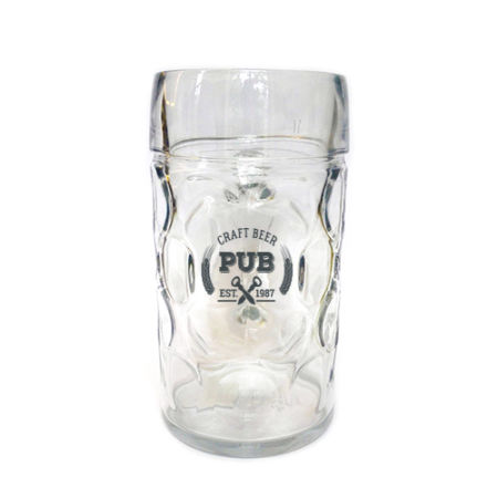 A 50 cl Octoberfest beer mug available with personalised printing options for a cheap price at Helloprint