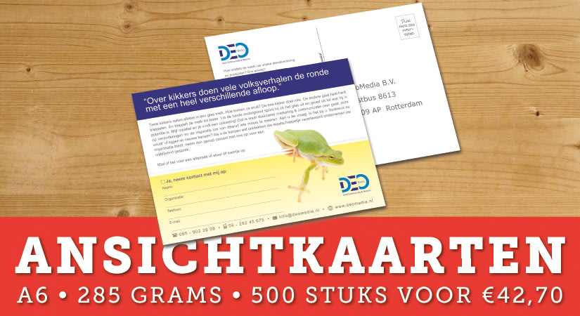 Deoprinting.nl - Banner 1