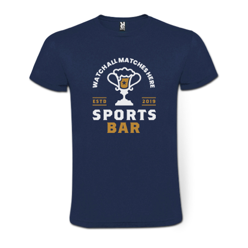 Personalised T-shirts for Sports Events by Helloprint