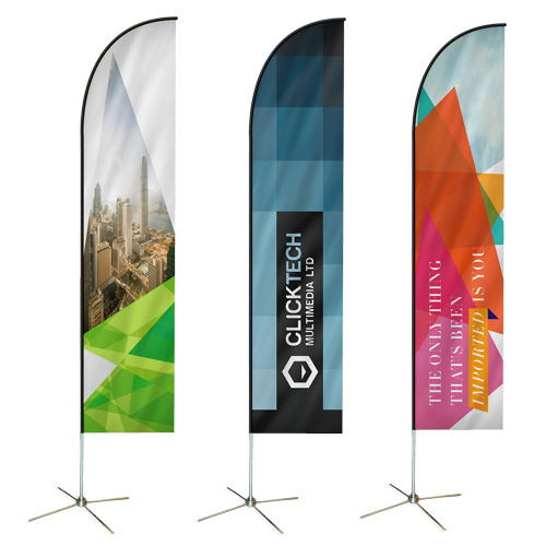 Custom Feather Flags & Feather Banners | Helloprint