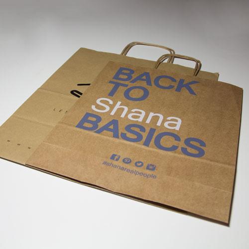 Bedrukte papieren tassen eenvoudig goedkoop en snel for Bedrukte zakjes