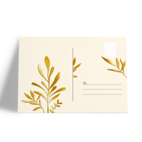 Postacards with exclusive Finishes allow you to convey your messages in a more fun way!