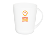 A white XL cup available at Helloprint with custom printing options for a cheap price