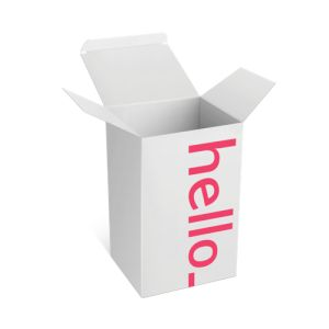 standing Box with flap