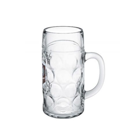 A 50 CL Octoberfest beer mug available to be printed with a custom logo on the side at Helloprint