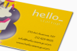 Cheap Spot UV Business Card Printing all over the UK | Free delivery and 100% satisfaction guarantee for all personalised spot gloss business cards with Drukzo