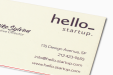 Cheap Multi Layer Business Card Printing all over the UK | Free delivery and 100% satisfaction guarantee for all personalised Triple Layer business cards with Druki.be