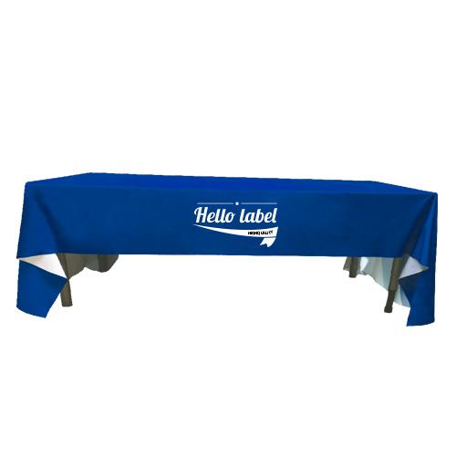 nappes de table rectangle personnalis es helloprint. Black Bedroom Furniture Sets. Home Design Ideas