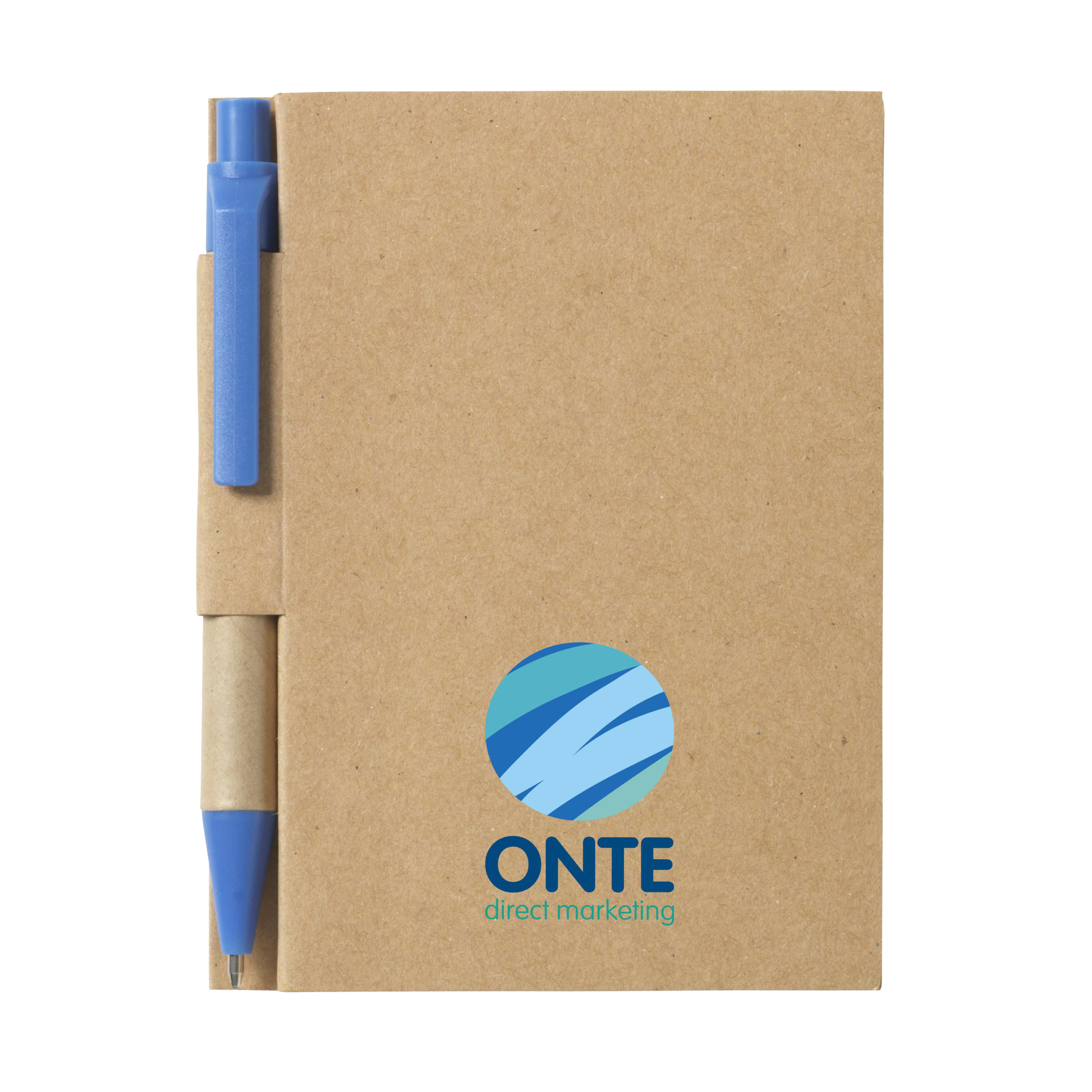 Notebook with pen. Perfect to note your idea and plan. Awesome for your colleagues. Produced by Helloprint.