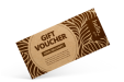 Eco Friendly Vouchers with Kraft Paper from Drukzo