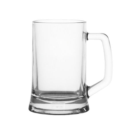A 480 ml German beer mug available at Helloprint with personalised printing solutions for a cheap price