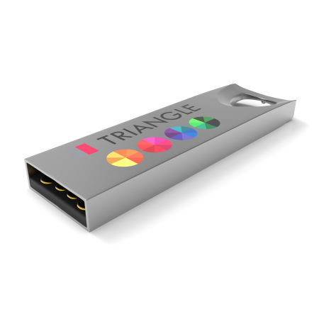 Store your most important files with this colorful and minimalistic USB only available at Drukzo.