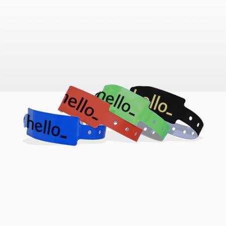 7e55a9aa7446 Pulseras personalizadas para eventos | Helloprint