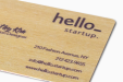 Cheap Wooden Business Card Printing all over the UK | Free delivery and 100% satisfaction guarantee for all personalised wooden business cards with Drukstart.nl