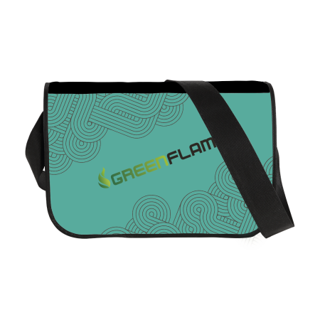 Cheap cross body bag, ideal for business r travelling. At Helloprint you can personalise it with your own logo or design.