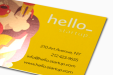 Cheap Foil Business Card Printing all over the UK | Free delivery and 100% satisfaction guarantee for all personalised metal business cards with Helloprint